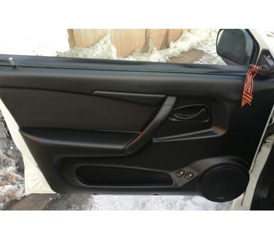 Комплект для замены обивок дверей Люкс-3 с виброизоляцией на ВАЗ 2109, 21099, 2114, 2115