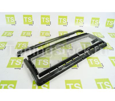Декоративная решётка радиатора GT черная для ВАЗ 2107