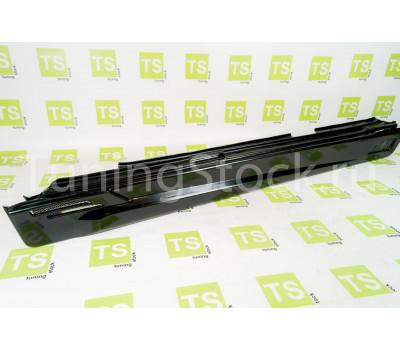 Пороги широкие с сеткой неокрашенные на ВАЗ 2101-2107