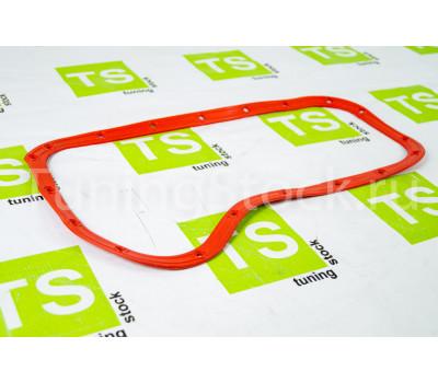 Прокладка масляного поддона красный силикон с металлическими шайбами ВАЗ 2101-2107, Лада 4х4 (Нива) 2121, 21213, 21214, 2131, Шевроле/Лада Нива 2123