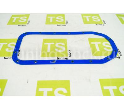 Прокладка масляного поддона силиконовая, синяя с металлическими шайбами для переднеприводных ВАЗ 2108-21099, 2110-2112, 2113-2115, Гранта, Калина, Калина 2, Приора, Приора 2