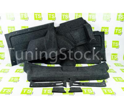 Обивка задней двери и багажника 21214 формованная верх ткань ворс для короткой Лада 4х4 (Нива) 21214