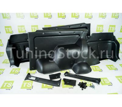 Обивка багажника формованная из экокожи на 3-дверную Нива 4х4 21214