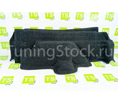 Обивка багажника 21213 на пластике, верх ткань для короткой Лада 4х4 (Нива) 21213