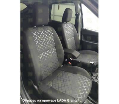 Обивка сидений (не чехлы) термотиснение Скиф на ВАЗ 2107