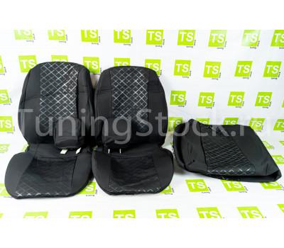 Обивка сидений (не чехлы) Скиф термотиснение на Гранта