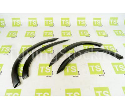 Декоративные накладки на арки из фактурного (матового) пластика на ВАЗ 2108-21099