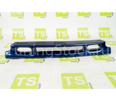 Декоративная решётка радиатора с сеткой под туманки на ВАЗ 2113-2115