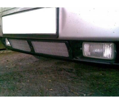 Нижняя решетка на передний бампер с сеткой на ВАЗ 2110, 2111, 2112