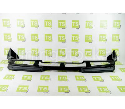 Накладка переднего бампера с сеткой на ВАЗ 2108, 2109, 21099