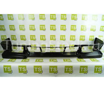 Накладка переднего бампера Люкс на ВАЗ 2113-2115