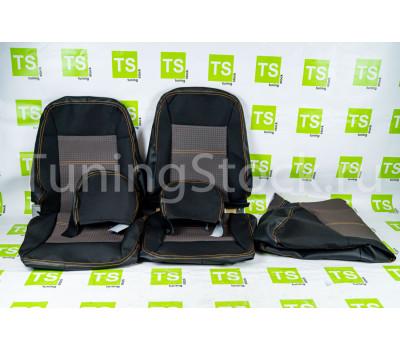 Заводская обивка сидений (не чехлы) Урбан на 3-дверную Лада 4х4 (Нива) 21213, 21214