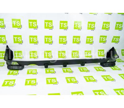 Накладка заднего бампера с диффузором на ВАЗ 2108, 2109