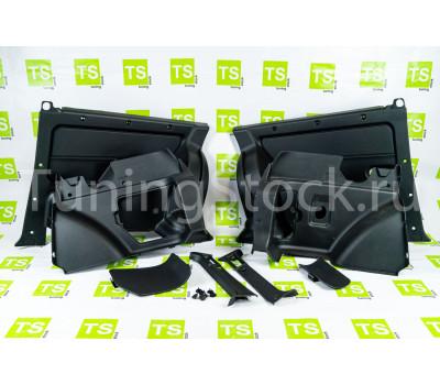 Комплект обивок задка и багажника для короткой Лада 4х4 (Нива) 21213, 21214