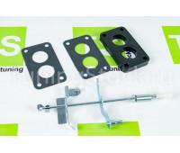 Переходной комплект для установки 08 карбюратора на ВАЗ 2101, 2102, 2103, 2104, 2105, 2106, 2107