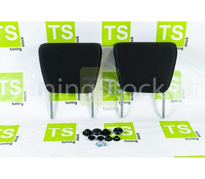Комплект подголовников задних сидений (2 шт) на ВАЗ 2108-21099, 2113-2115