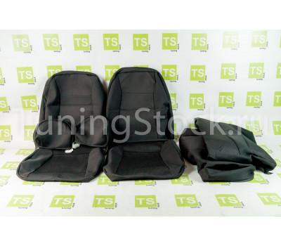 Обивка сидений (не чехлы) центр Искринка на Шевроле Нива до 2014 г.в