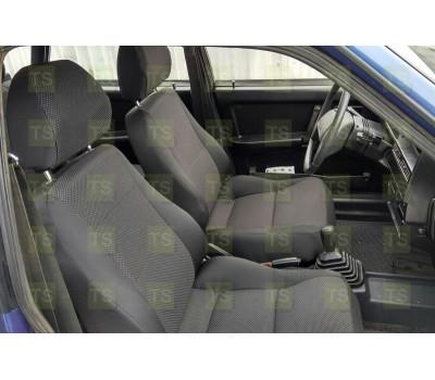 Обивка сидений (не чехлы) черная Искринка ВАЗ 2108-21099, 2113-2115, Лада 4х4 (Нива) 2131