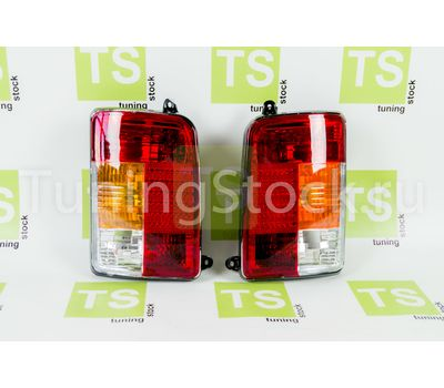 Задние фонари тюнинг красные на Лада 4х4 (Нива) 21213, 21214, 2131