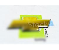 Эмблема-шильдик Chevrolet нового образца на решетку радиатора Шевроле Нива после рестайлинга 2009 года