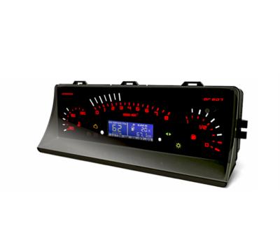 Комбинация приборов электронная Gamma GF 607 на ВАЗ 2105, 2107 инжектор