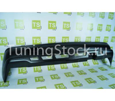 Бампер задний с сеткой неокрашенный на ВАЗ 2101, 2103, 2106