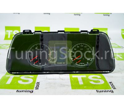 Комбинация приборов электронная Flash Х3 на ВАЗ 2108-21099, 2110-2112, 2113-2115, Лада 4х4 21214, 2131, Шевроле Нива