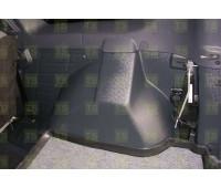 Накладки на ковролин ЯрПласт в багажник 5-местного Ларгус