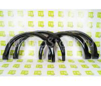 Расширители колёсных арок (фендеры) гладкие Razor с имитацией вырезов под болты на Нива 4х4 Урбан 3-х дверную