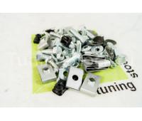 Комплект крепления переднего бампера, решеток и накладок ВАЗ 2113-2115