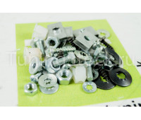 Комплект крепления переднего бампера, балки бампера, решетки радиатора на Калина