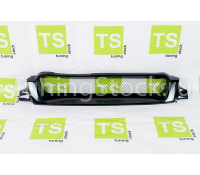 Решётка радиатора TMS с круглой сеткой на ВАЗ 2113, 2114, 2115