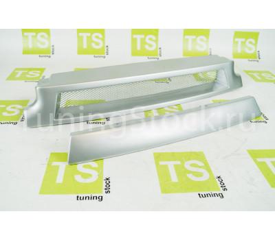 Решётка радиатора с сеткой и заглушкой на ВАЗ 2113-2115