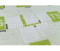 Комплект защитных пленок от царапин под ручки дверей автомобиля (Тип А)