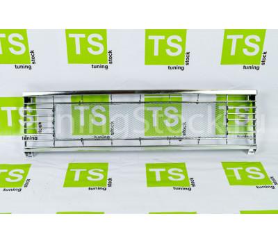 Декоративная решетка радиатора GT с сеткой хром на ВАЗ 2104, 2105