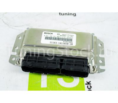 Контроллер ЭБУ ВАЗ 11183-1411020-20 BOSCH (M 7.9.7) на Калина 8 кл 2008-2011 г