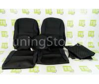 Обивка сидений (не чехлы) черная Ультра на Нива 4х4 21213, 21214, 2131