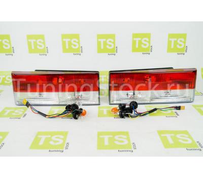 Комплект задних фонарей с красной полосой для ВАЗ 2108-21099, 2113, 2114