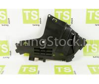Правый грязезащитный щиток переднего бампера Ларгус