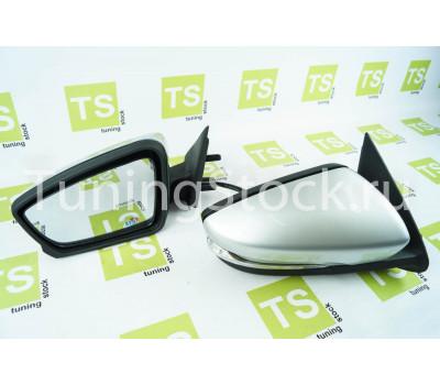 Боковые зеркала Лифтбек с электроприводом, обогревом и повторителями на Гранта, Калина, Калина 2, Datsun