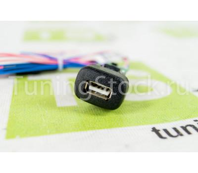 USB-зарядник Штат 2.0 вместо заглушки кнопки на ВАЗ 2110-2112, 2113-2115, Калина, Шевроле/Лада Нива 2123