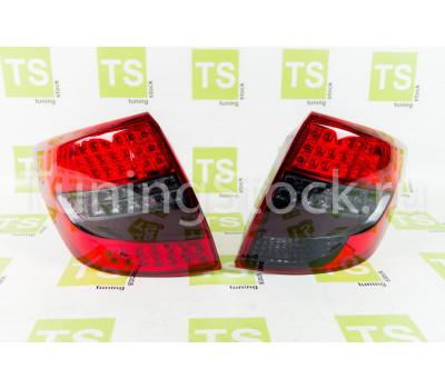Диодные красно-серые фонари TheBestPartner на Гранта седан