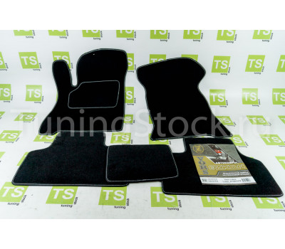 Комплект ворсовых ковриков в салон Приора