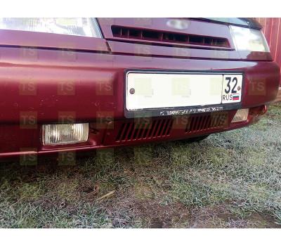 Нижняя решетка на передний бампер на ВАЗ 2110, 2111, 2112