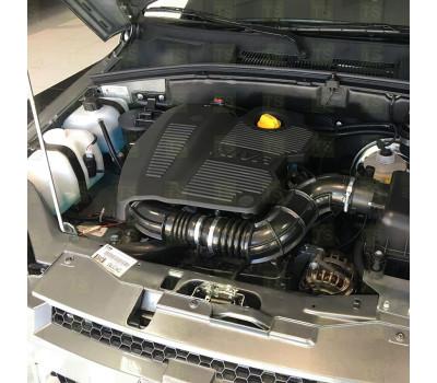 Пластиковая крышка (экран) двигателя Бертоне Шевроле Нива