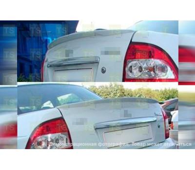 Лип-спойлер BMW-style на багажник Приора седан