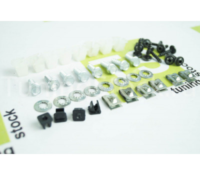 Комплект креплений для передних заводских локеров Калина, Калина 2, Гранта, Гранта 2, Датсун