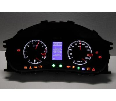 Комбинация приборов электронная Flash X4 на Приора, Калина, ВАЗ 2110, 2111, 2112