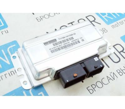 Контроллер ЭБУ Январь 11186-1411020-22 (Итэлма) под электронную педаль газа