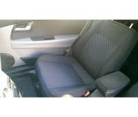 Обивка сидений (не чехлы) черная Ультра на Приора седан